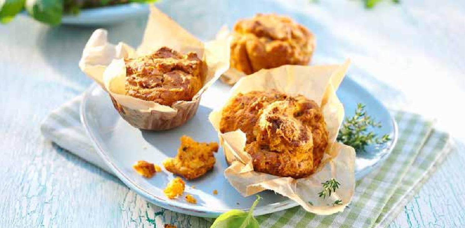 Středomořské muffiny