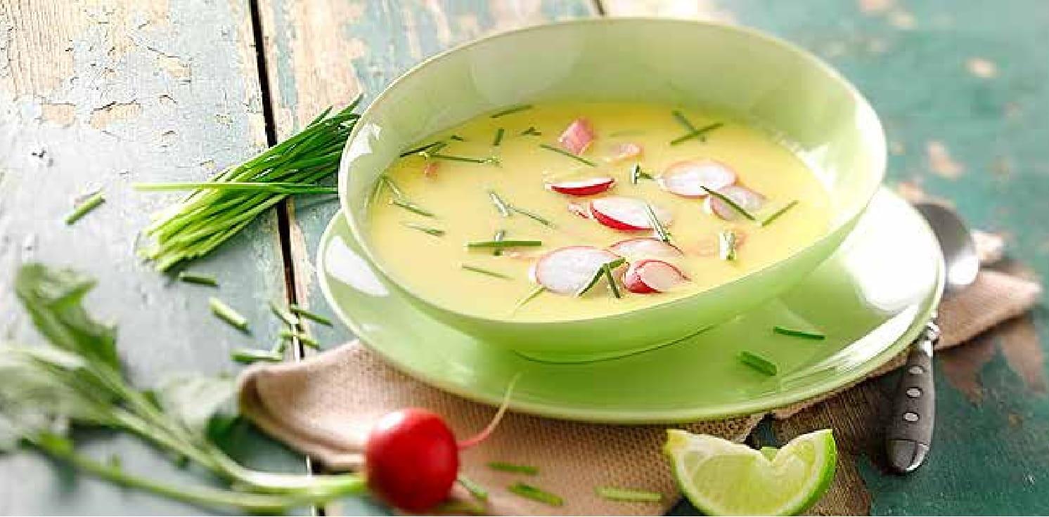 Krémová papriková polévka