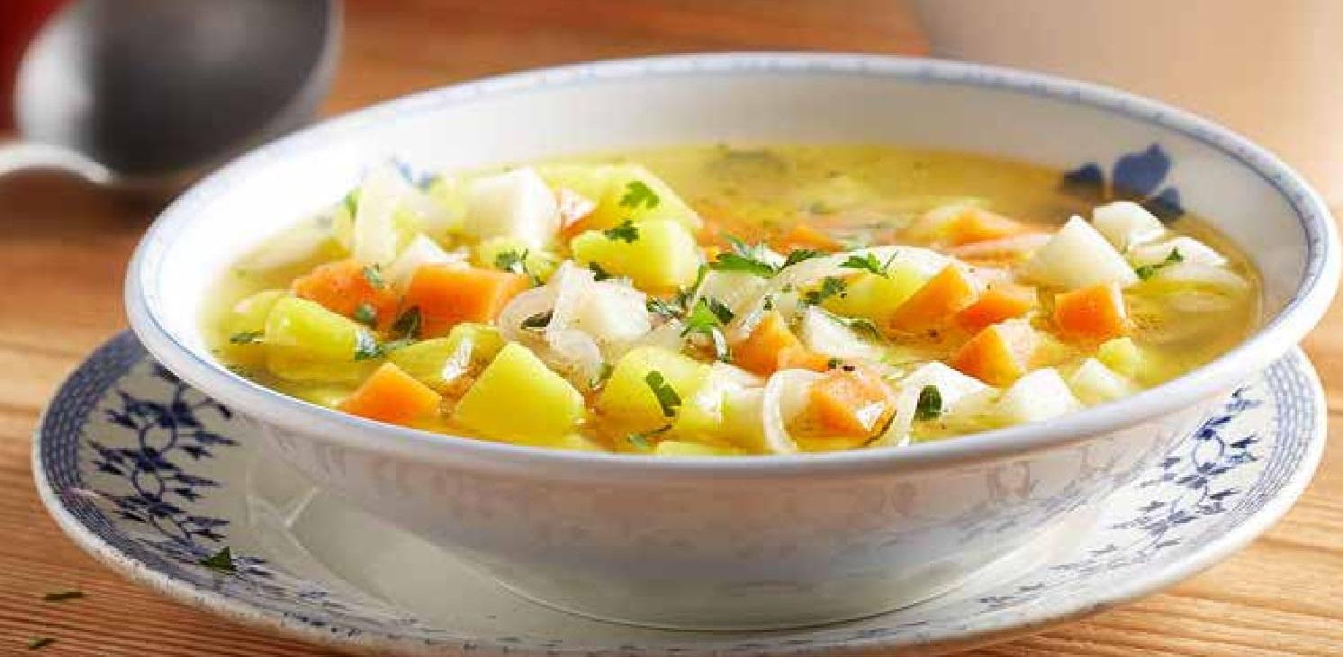 Vydatná polévka z tuřínu