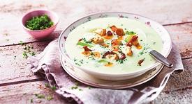 polévka s kuřecím masem