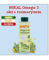 Omega 3 olej s rozmarýnem